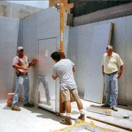 دمونتاژ پنل های سردخانه